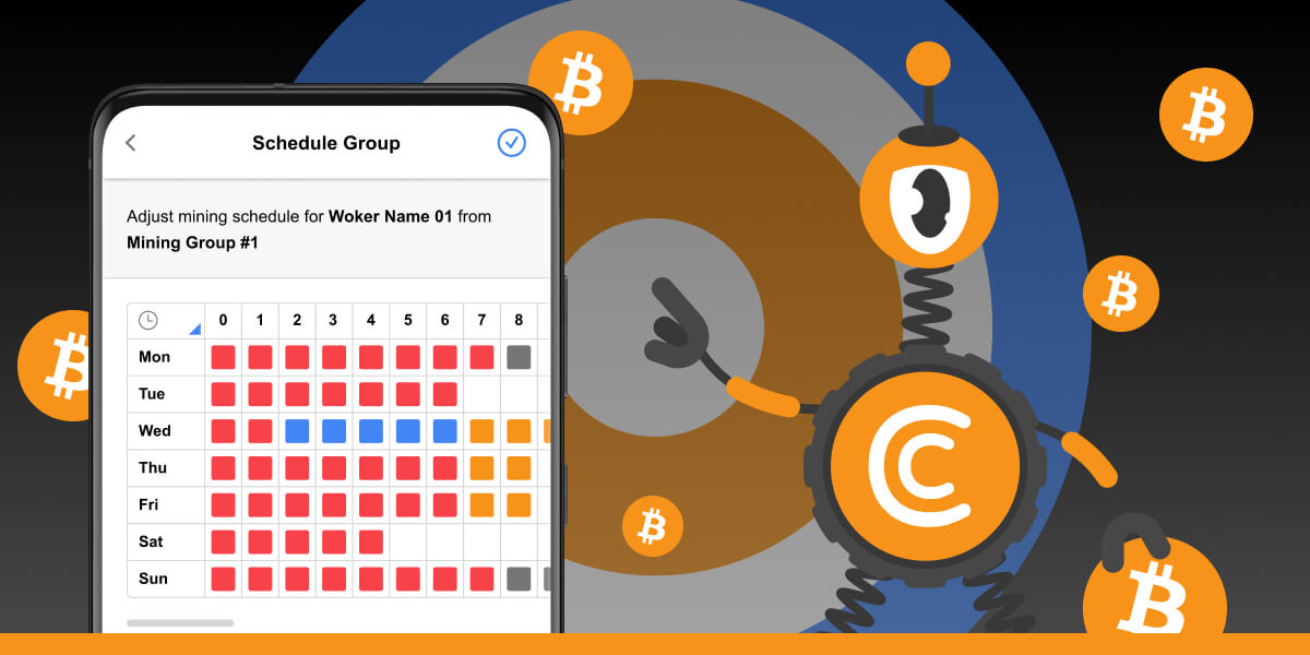 Why do I need a mining schedule?